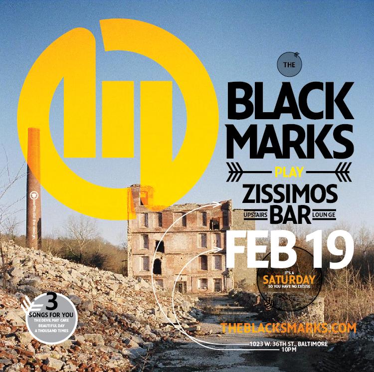 The Black Marks Zissimoss Show CD insert