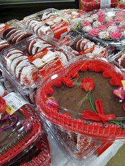 Valentine's cakes and cookies