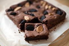 Cookies and cream fudge brownies