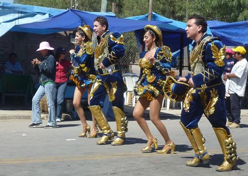 Caporales Dancers