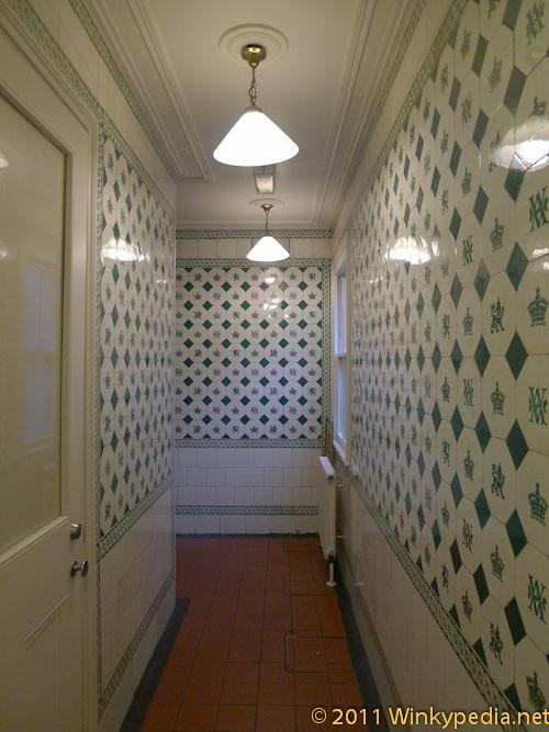 Original Victoria corridor at Victoria and Albert Museum