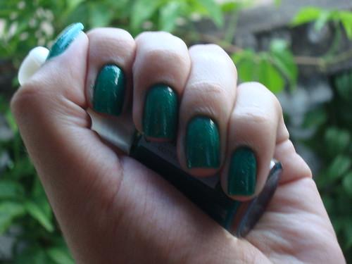 Cora - Glitter Verde