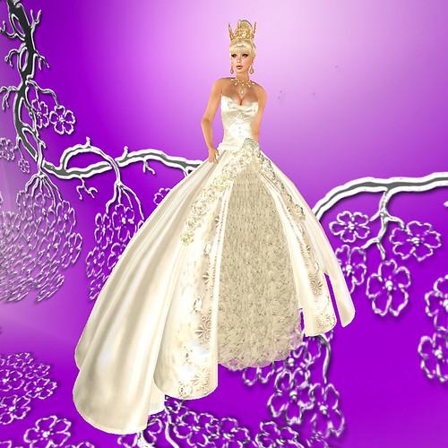 Winter Bridal Fantasy