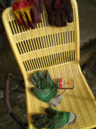 gloves and matches