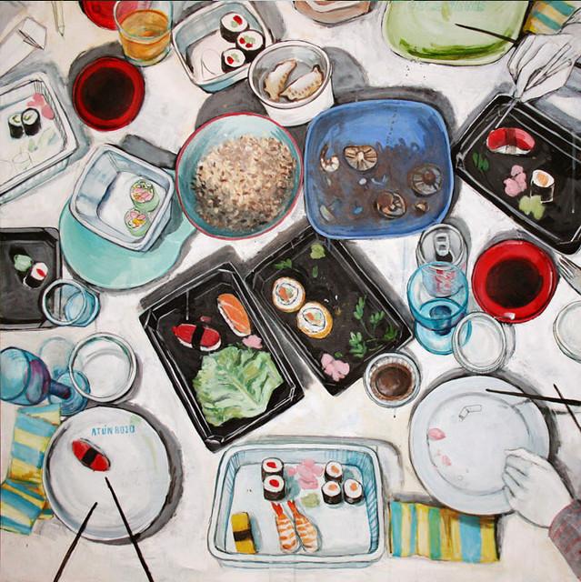sushi white