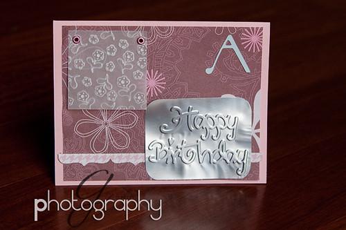Amy's card