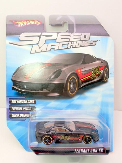 hot wheels speed machines ferrari 599 XX blk (1)