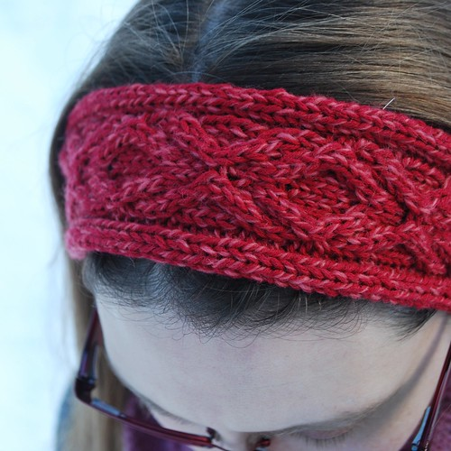XOXO Headband   A Free Knitting Pattern   The Hook and I