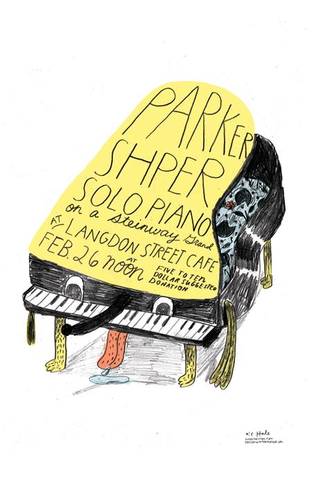 Parker Shper Poster
