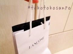 手提げ袋 ランコム「ジェニフlancommask_urafukuro ランコム「ジェニフィック マスクィック マスク」でお試しエイジングケア