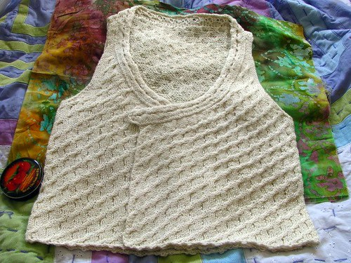 Alsea Vest Dried & Pressed Closed Fronts