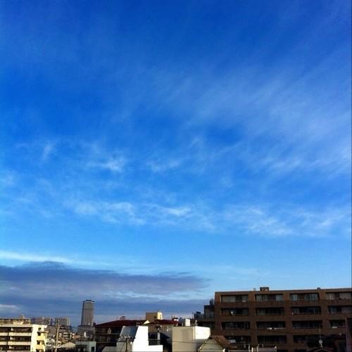 お昼~! 青空をどうぞ!(^O^☆♪
