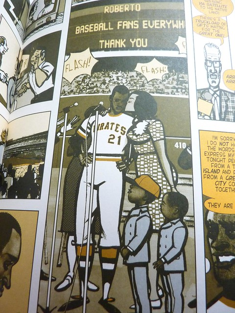21: The Story of Roberto Clemente by Wilfred Santiago - detail