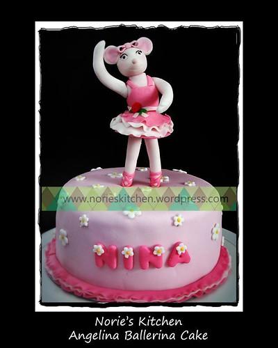 Norie's Kitchen - Angelina Ballerina Cake
