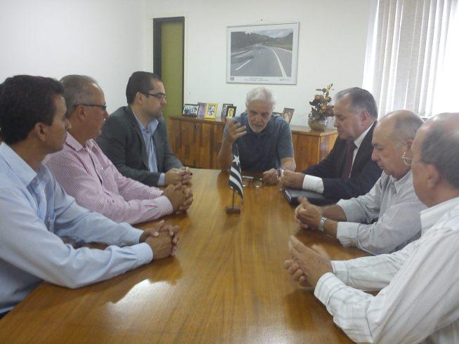 reunião no DNIT com Prefeito Adejair e Vereadoreres de Manhuaçu