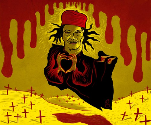 Mamour Kadhafi - Illustration Gilderic