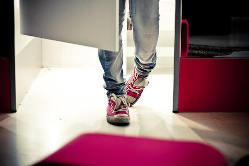 Pink Shoes III