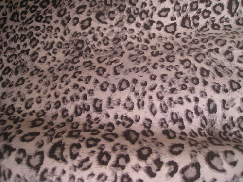 gray black white leopard rayon blend