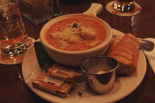 whisky tomato cream soup