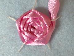 Ribbon embroidery on felt13