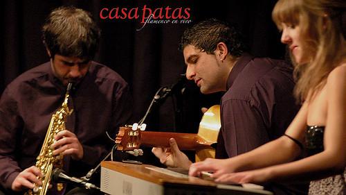 Diego Villegas (a la izquierda) y Ariadna Castellanos (a la derecha) participarán esta semana en Casa Patas. Foto: Martín Guerrero