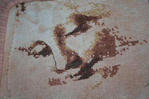 Progress on Da Vinci La Scapigliata piece