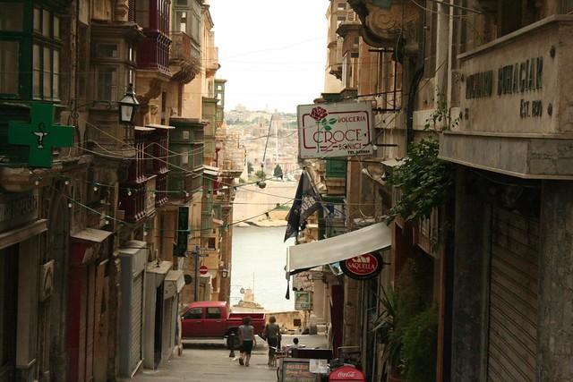 St John Street in Valletta Malta
