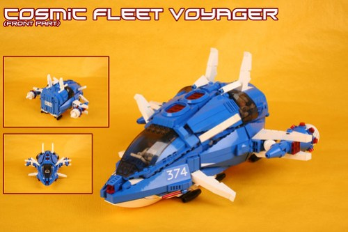 Cosmic Fleet Voyager 2012 (front part)