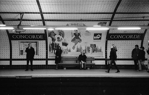Concorde metro station