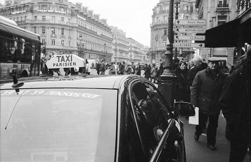 Parisien taxi