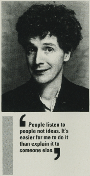 Malcolm McLaren could have been talking about social media