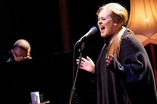 Adele live at The Tabernacle