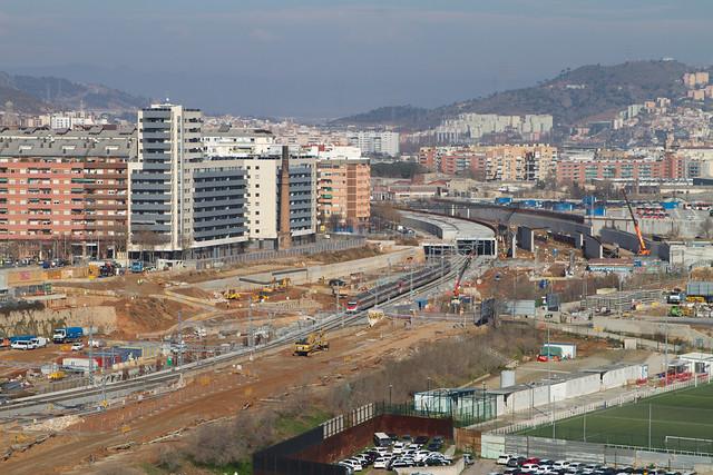 Pont del Treball - Norte Elevado - 01-02-11