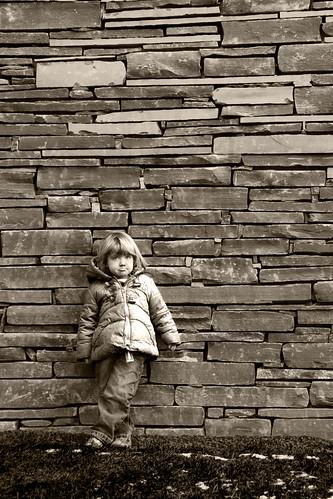girl wall slate