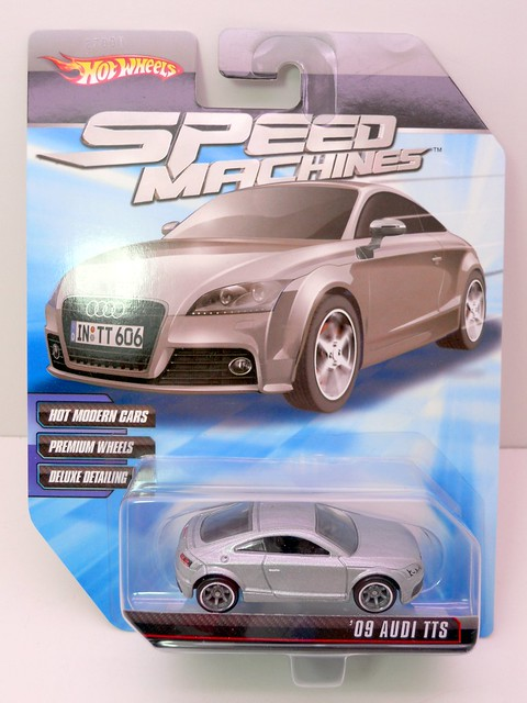 hot wheels speed machines '09 audi tts silver (1)