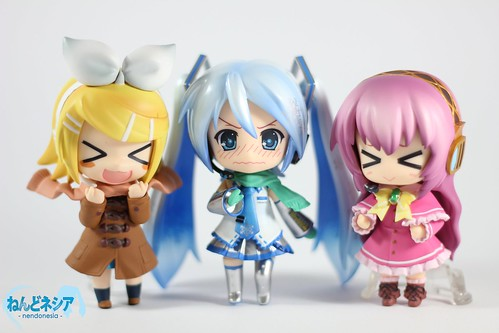 Vocaloid Winter Fashion