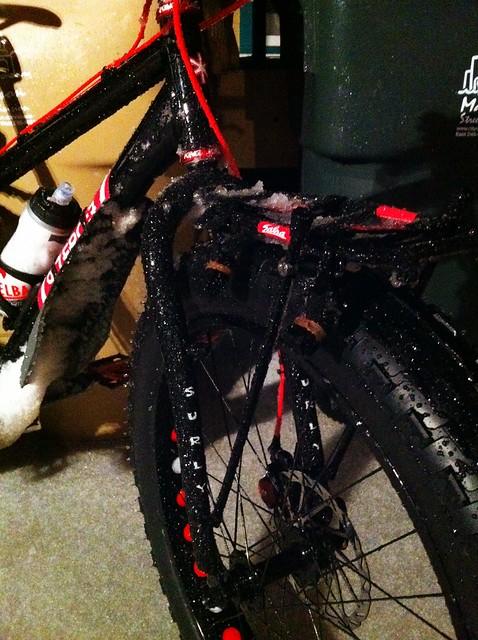 Ice bike.