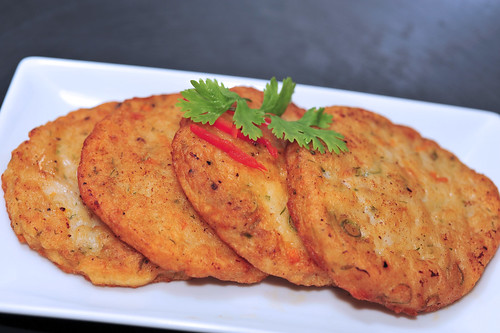 Thai-styled Fish Cakes 泰式鱼饼