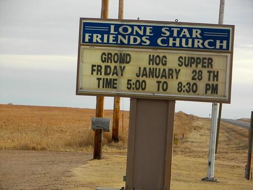 Ground Hog Supper