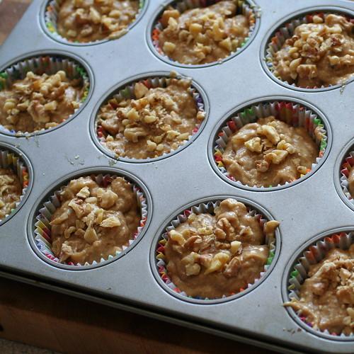 Banana Espresso Muffins