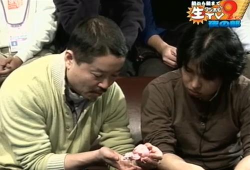 Watanabe Max (MF president) were playing with Nendoroid Madoka