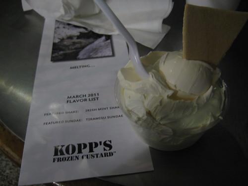 Kopps vanilla custard