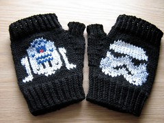 Star Wars Fingerless Gloves