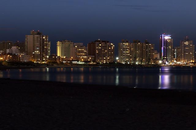 Punta del Este Downtown Skyline   110308-1813-jikatu