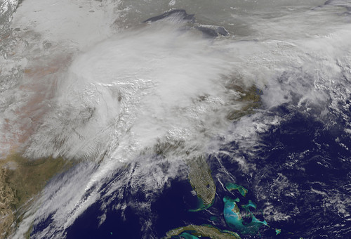 Satellite Captures Monster Winter Storm Affecting 30 States