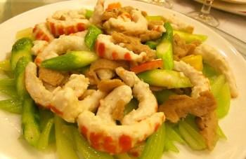 Celery prawn