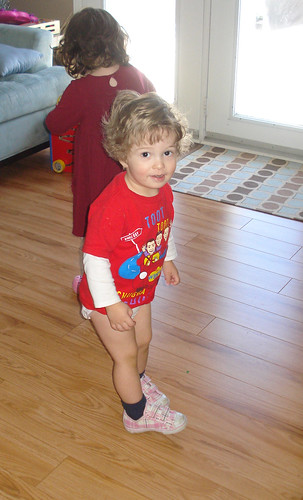 No Pants and Her Shoes