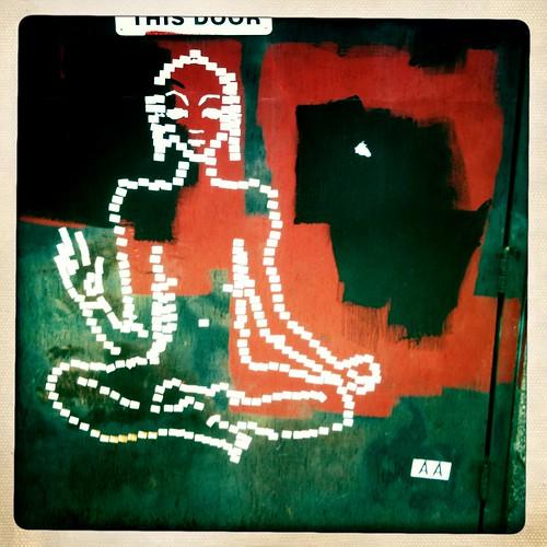 Buddha Street Art