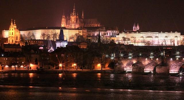 Vltava, Charles Bridge, Mala Strana, Prague
