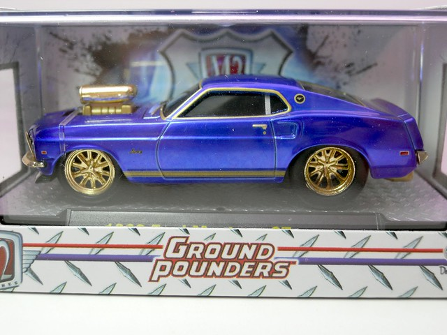 m2 ground pounders 1969 ford mustang gt chase
